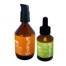 Kit sérum regenerador noche 30 ml + aceite multiusos 125 ml